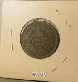 1804 Philadelphia Mint Copper Classic Half Cent-Very High Grade Rare USA Coin
