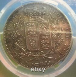 1847 Crown Very High Grade With The STAR For Rose On Reverse Not Listed So Rare
