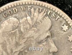 1909 O Barber Quarter 25c Solid Coin. Nice Grade Better VERY RARE