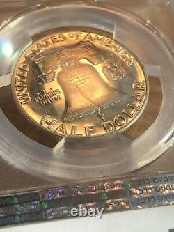 1952 PR65 Franklin Half Dollar 50c Proof, PCGS Graded PF65! Very rare Coin