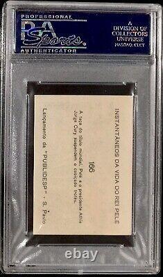 1964 Instantaneos Pele Hof Psa 5 Highest Grade Very Rare (portugal Version)