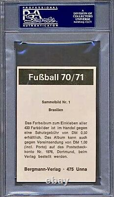 1970 Rare Bergmann-verlag Pele Hof (pop 2) Psa 4 Highest Grade (very Scarce)
