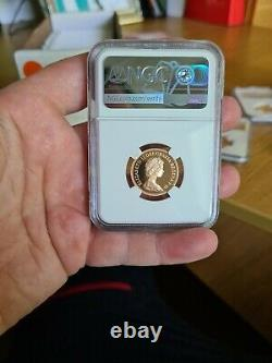 1984 Gold Proof Sovereign Top Grade NGC PF70 very sought after Coin rare