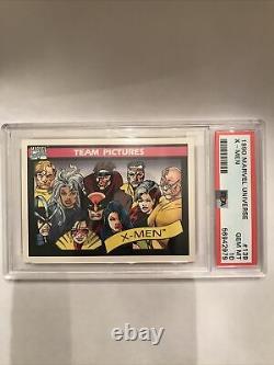 1990 Marvel Universe #139 X-Men PSA 10 GEM MINT EX RARE Very Tough Grade