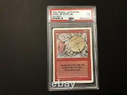 1994 WHEEL OF FORTUNE, Revised, Graded PSA 3 VERY GOOD (MTG Red Sorcery)