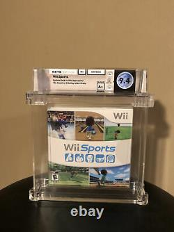 2006 Wii Sports Sealed Wata Games Graded 9.4 A+ With Deep Badge! Very Rare