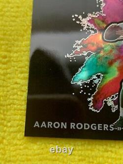 2020 Obsidian Aaron Rodgers color blast SSP rare this will grade very high