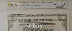 $500,000,000 US Treasury Note Intaglio- VERY RARE- PCGS Graded Choice Unc 64 PPQ