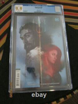 9.9 Cgc Aquaman Mera Very Rare In This Grade Jason Momoa & Amber Heard Not 9.8