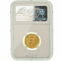 #900389 Coin, Magnus Maximus, Solidus, 383-388 AD, Trier, Very rare, graded