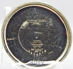 A VERY RARE & COLLECTABLE 16s, 23J, 60 Hour Illinois Bunn Special RR Grade PW