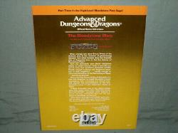 AD&D 1st Ed H3 THE BLOODSTONE WARS (VERY RARE with MAP HIGH-GRADE and NM!)