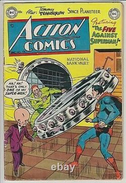 Action Comics #175 VG+ VERY RARE! ONLY 13 CGC GRADED issues starring Superman
