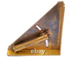 Antique 1880 Very Rare German Mortar Cannon Level Aim Device Military Field