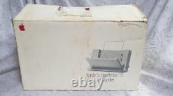 Apple SheetFeeder Unit for Imagewriter II Printer Boxed VERY RARE Grade B