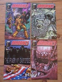 Armorines volume 2 1,2,3,4. V High Grade Check PHOTOS! Very Rare Acclaim NM