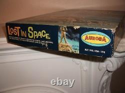 Aurora Lost In Space 420 Part Built + Repro Parts MID Grade U. S Box Very Rare