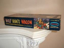 Aurora Wolfmans Wagon Minor Assembly & Paint In High Grade U. S Box Very Rare