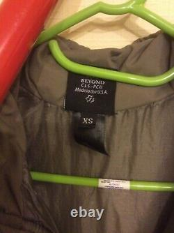 BEYOND PCU Level 7 Parka Extra Small Regular (XS-R) Alpha Green NWT VERY RARE