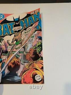 Batman #359 Near Perfect High Grade Very Rare Double Cover 1st Killer Croc Cover