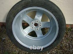Bentley Arnage T Mulliner Level 2 Split rim alloy wheel with tyre. Very rare. E