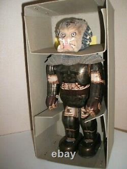 Billiken Predator Wind Up Tin Robot New In High Grade Box Very Rare