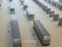 CARL ZEISS JENA Metric Gauge Block Set GRADE1 VERY RARE! 1970s DDR