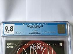 CGC Graded 9.8 Comic Marvel Universe X Spidey Recalled Very Rare Hot Special
