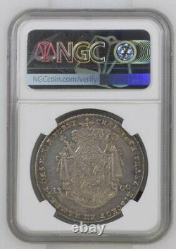 CITY VIEW NGC Bamberg 1800 AU58 Silver Thaler Very Rare For Grade Dav-1940 Toned