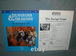 D&D 1st Edition Module X9 THE SAVAGE COAST (VERY RARE HIGH-GRADE and NM-!)