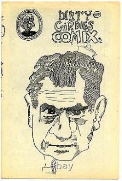 DIRTY GIRDIES COMIX #2 9.0, OW-W 1st printing High grade Very Rare