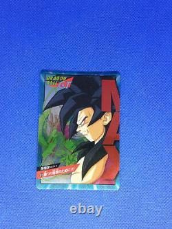 DRAGON BALL GT CARD PRISM POWER LEVEL 01 02 Very Rare