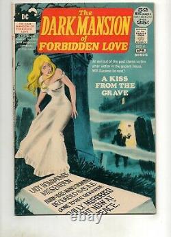 Dark Mansion of Forbidden Love #4 HIGH GRADE NM- 9.2! 1 VERY RARE Bronze Book