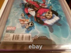 Deadpool #1 Yesteryear Comics Variant Cgc 9.8 Very Rare Top Grade