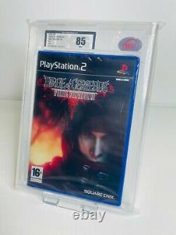 Final Fantasy VII Dirge of Cerberus PS2 (UK PAL) UKG VGA Graded Very Rare