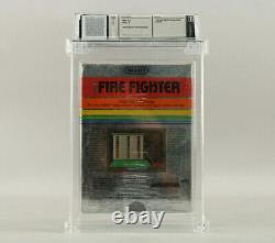 Fire Fighter Atari 2600 1982 Imagic New Sealed Wata Graded 8.0 A Very Rare