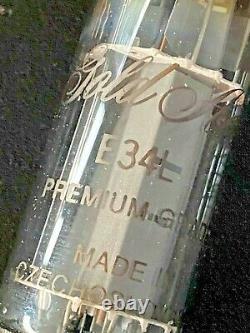 GOLD AERO EL34 VALVE 6CA7 (E34L) Premium Grade TUBE X 12 VERY RARE