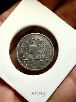 GREECE 1 drachma 1834 King Otto High Grade! VERY RARE