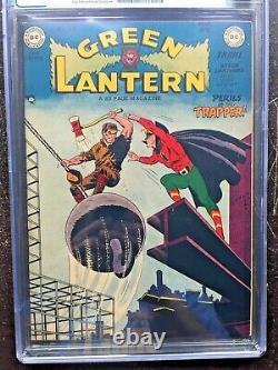 GREEN LANTERN COMICS #37 CGC VF 8.0 CM-OW very rare in high grade