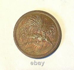 German New Guinea 1894 10 Pfeninig Km#3 Very Rare High Grade Bu