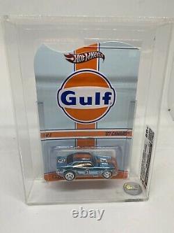 Hot Wheels 67 Camaro Red Line Club Gulf, Graded 80 Plus, Very Rare Graded