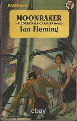 Ian Fleming Moonraker Very Rare Uk Pan 1st Pb 1956 High Grade