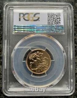 King George VI 1937 Gold Sovereign PCGS PR66+CAM VERY RARE GRADE