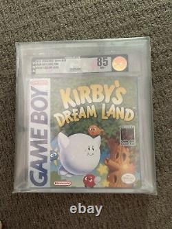 Kirbys Dreamland GB Sealed Graded 85 Wata 9.2 Very RARE USA Mint