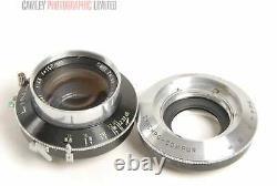 Linhof Carl Zeiss Tessar 150mm f4.5 Lens. Very rare. Graded EXC #5076