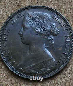 RARE 1860 BUN HEAD, PENNY VICTORIA N OVER Z In ONE Very Rare In High Grade