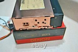 Rare Used In Box Old School Denon Dsv-1 Volume Level Meter Very Cool Looking
