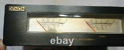 Rare Used Old School Denon Dsv-1 Volume Level Meter Very Cool Looking Free Ship