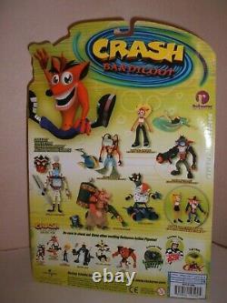 Resaurus Crash Bandicoot Dingodile Factory Sealed High Grade Card Very Rare