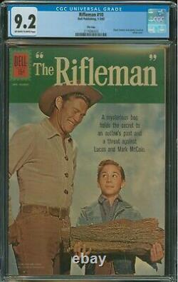 Rifleman #10 CGC 9.2 Dell File Copy very rare in high grade classic cover